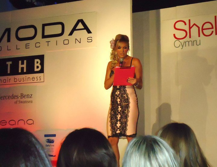 Amanda Protheroe-Thomas - Hosting Moda Fashion Show